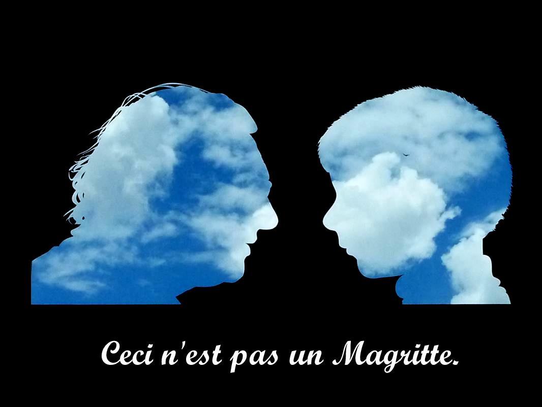Ceci n'est pas un Magritte.