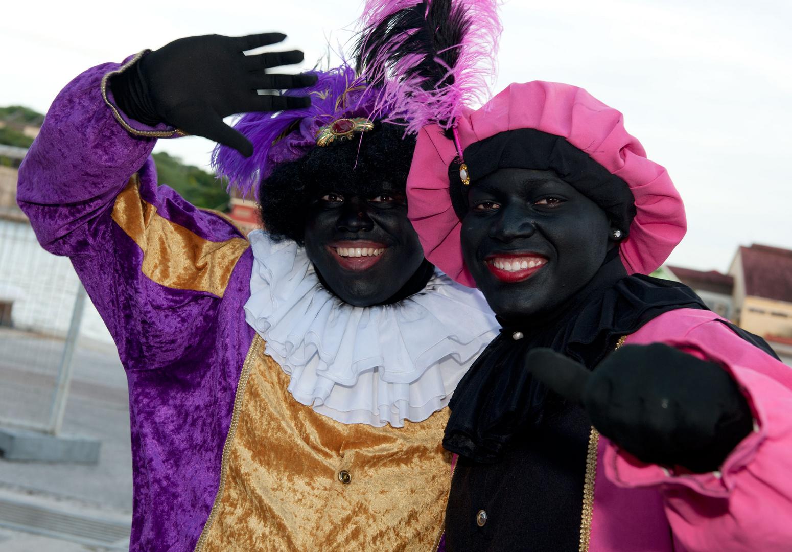 """Celebration """"Santaclaus"""" in Willemstad"""