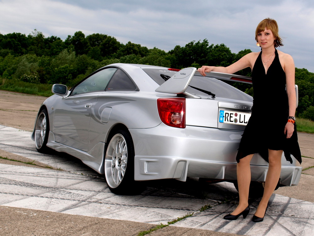Celica Picture with Modell2