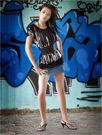 Celina goes Graffiti