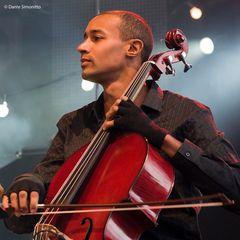 Cellist von Stephan Eicher Live at Sunset 2011