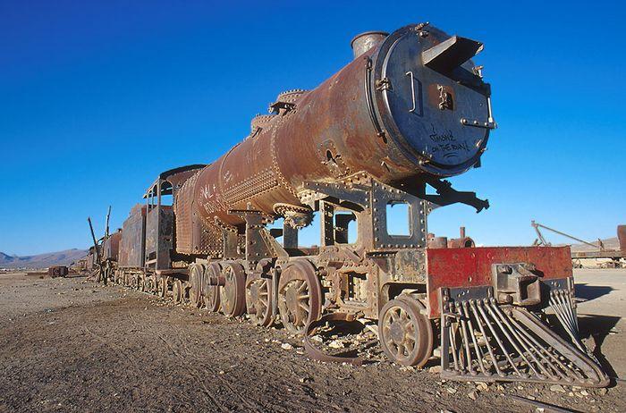 Cementerio des las locomotoras