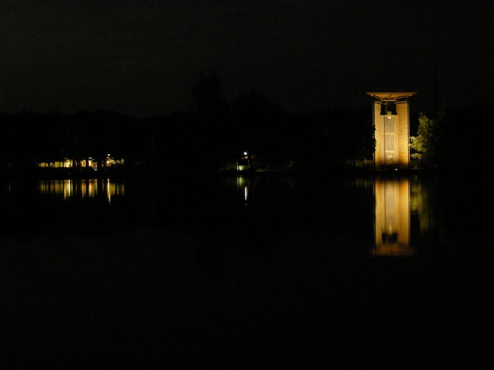 Center Parc bei Nacht