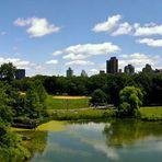 Central Park Panorama Ausblick