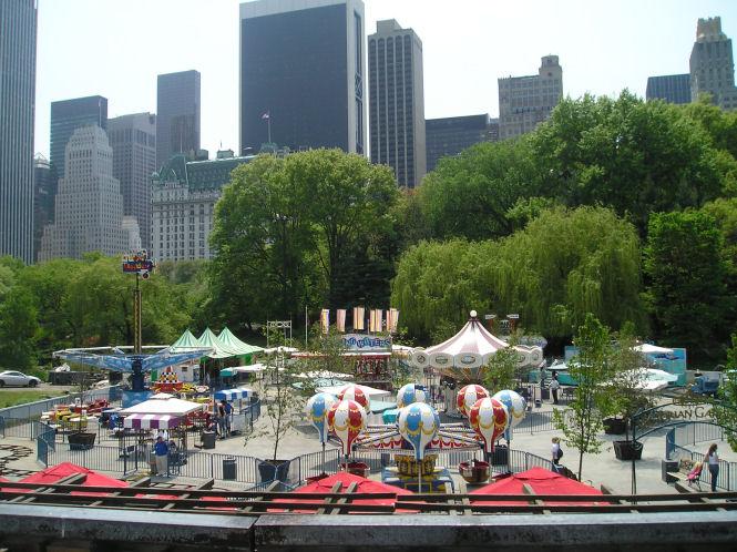 Central Park...der Kontrast