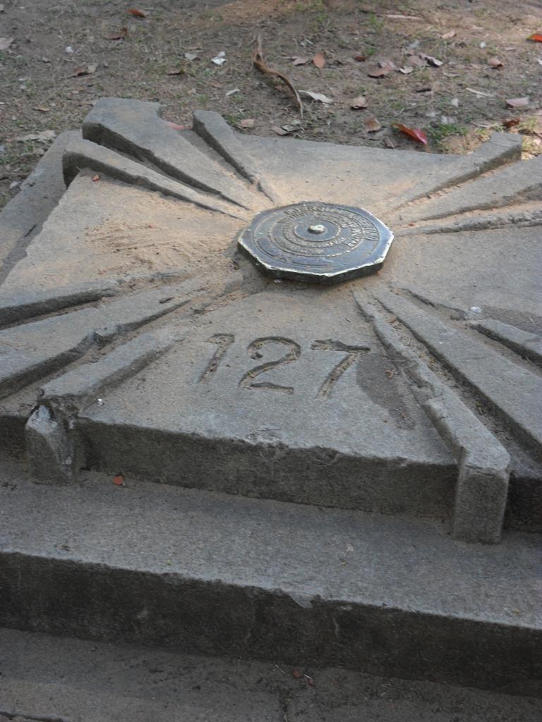 Centro Geógrafico original de Rosario - Parque de la Independencia