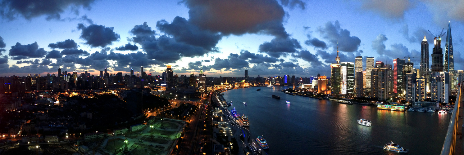 Century Sunset in Shanghai