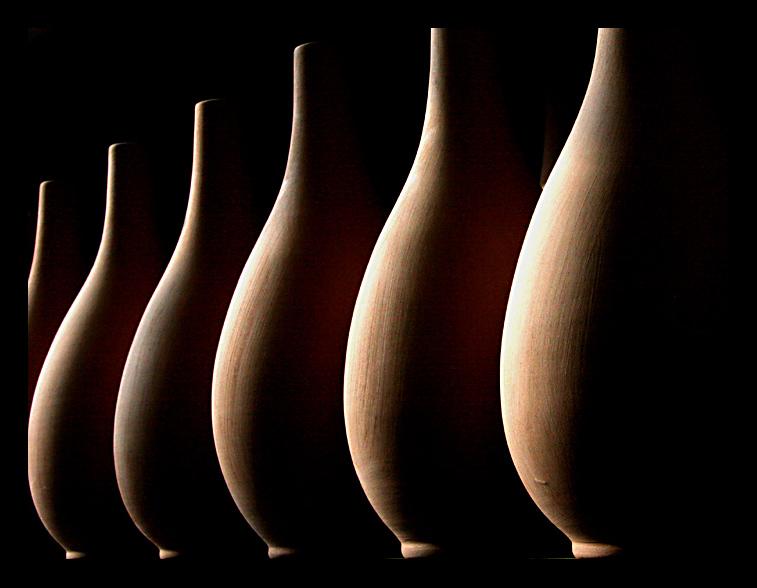 ceramica prima di essere dipinta