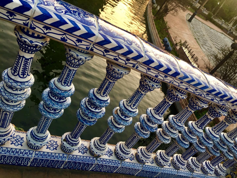 cerámicas plaza de España.       SEVILLA