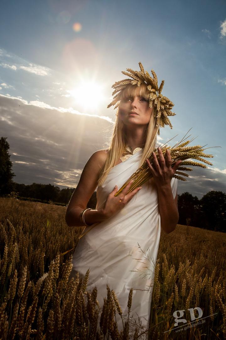 Ceres - römische Göttin des Ackerbaus