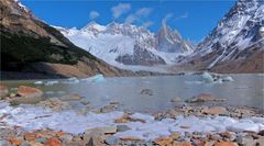 CERRO TORRE ON THE ROCKS