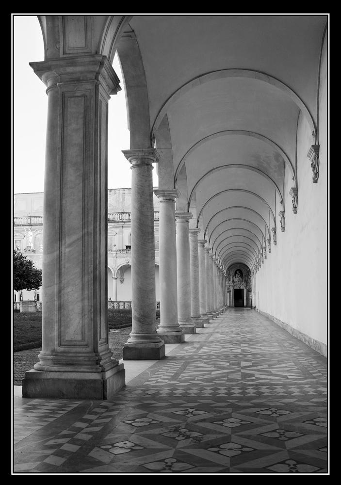Certosa San Martino Napoli Bianco E Nero Foto Immagini