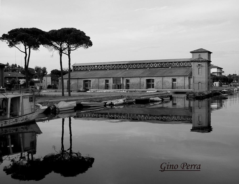 Cervia (Ravenna) Il vecchio magazzino del sale