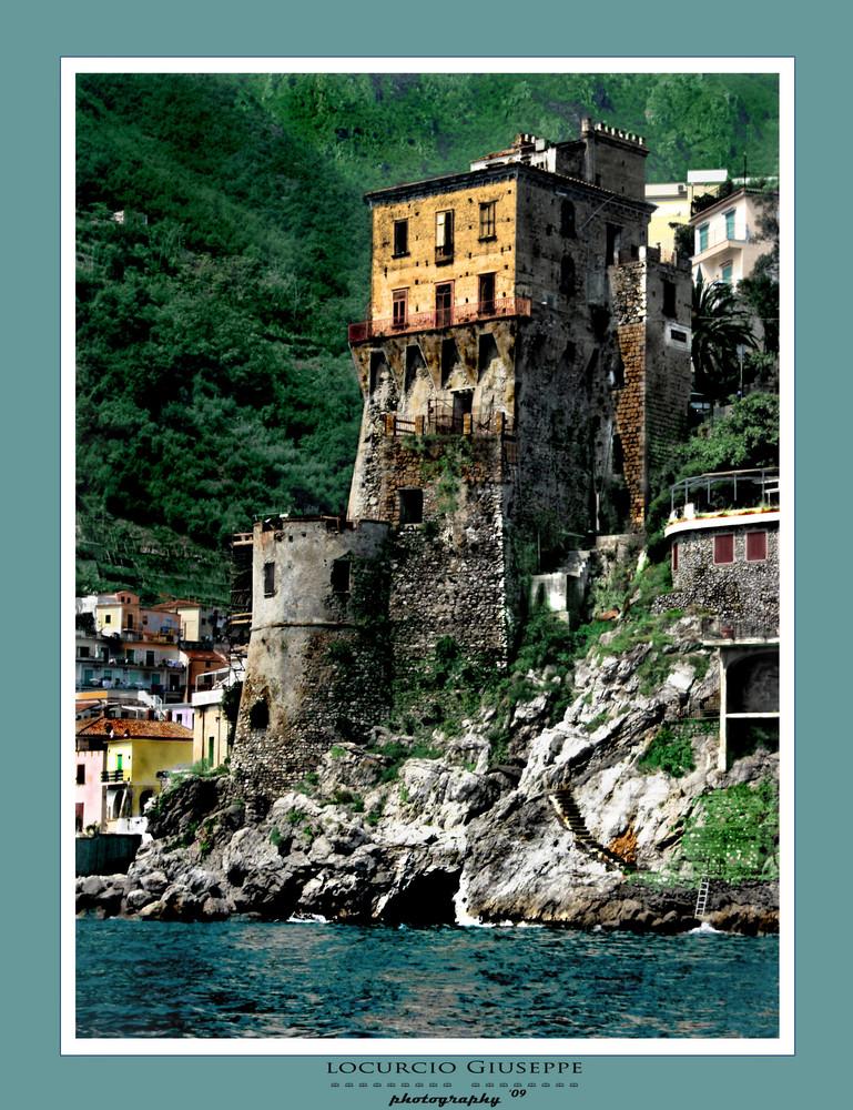 Cetara, la Torre Vicereale
