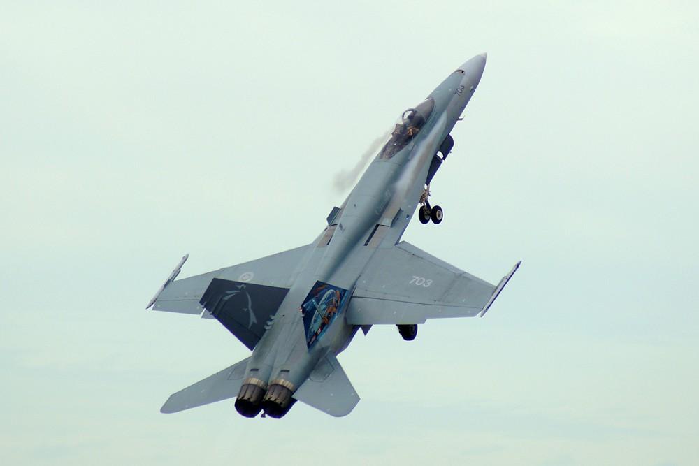 CF-18 Take Off