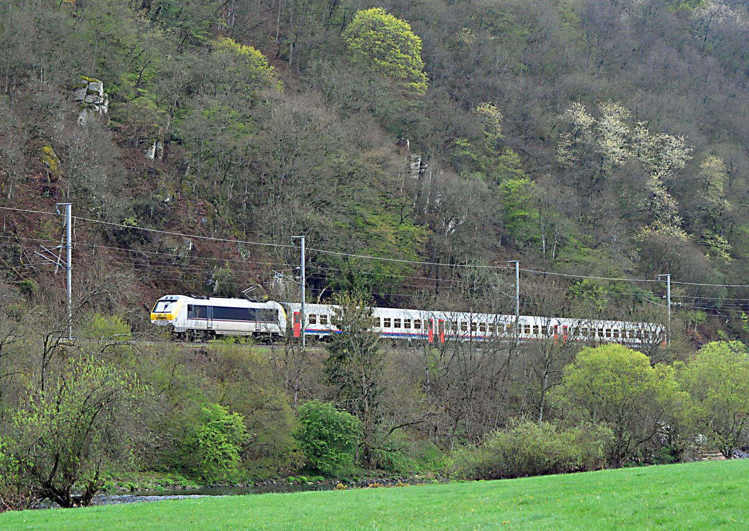 CFL 3007 mit IR zwischen Michelau und Erpeldingen