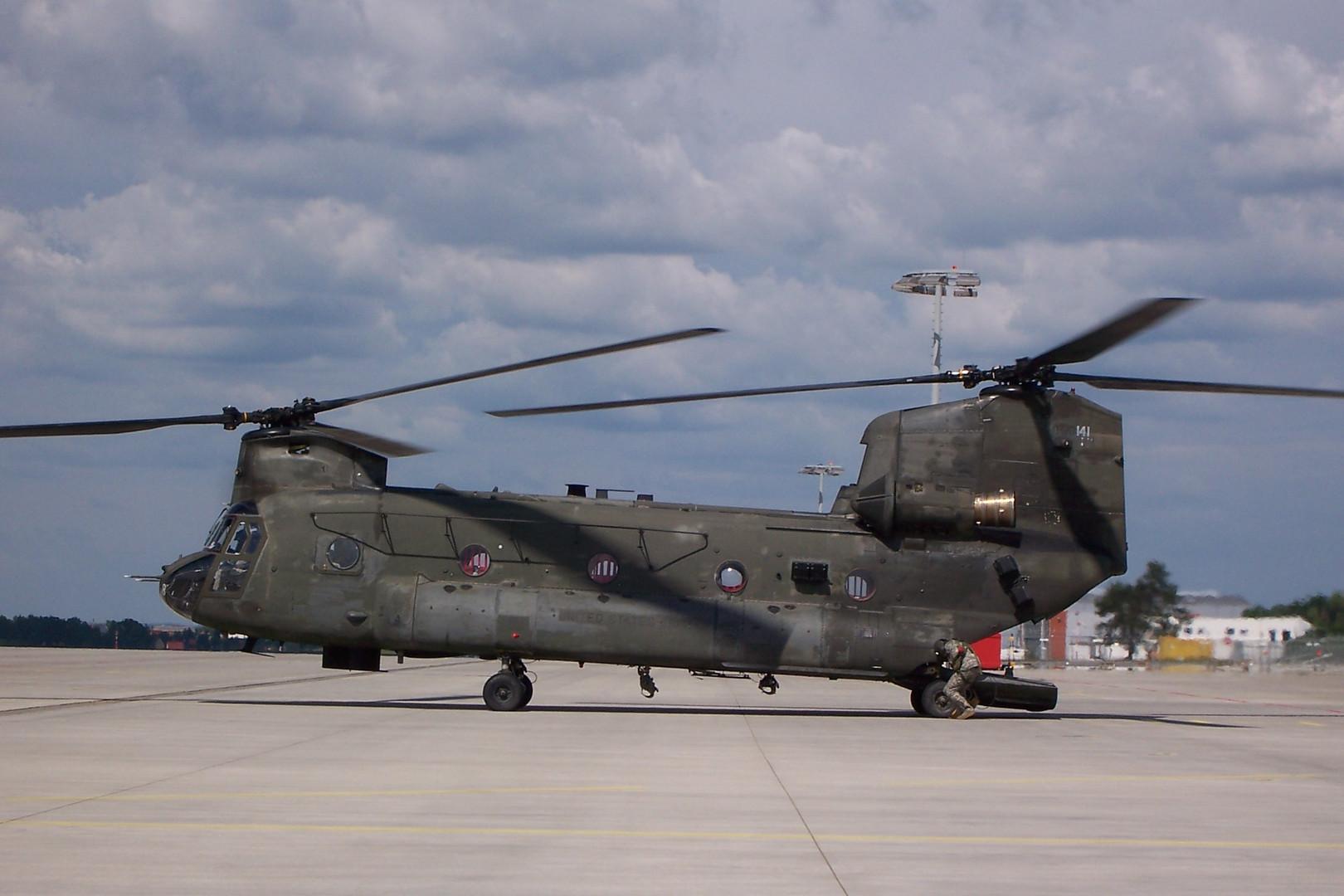 CH-47D ... zum Dritten