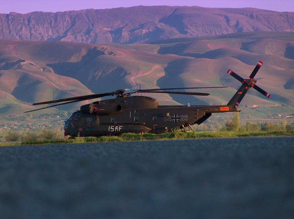 CH 53 GS in Dushanbee