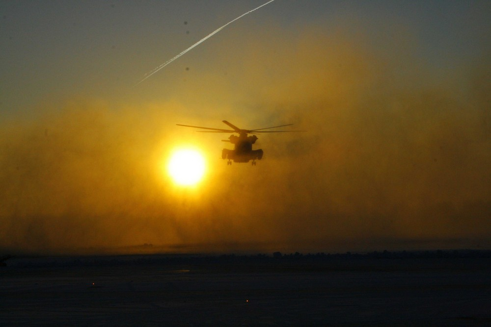 CH 53 GS Whiteout