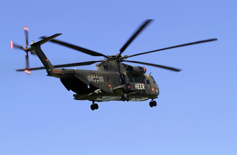 CH 53 im Landeanflug...