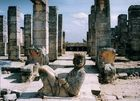 Chacmool au temple des guerriers