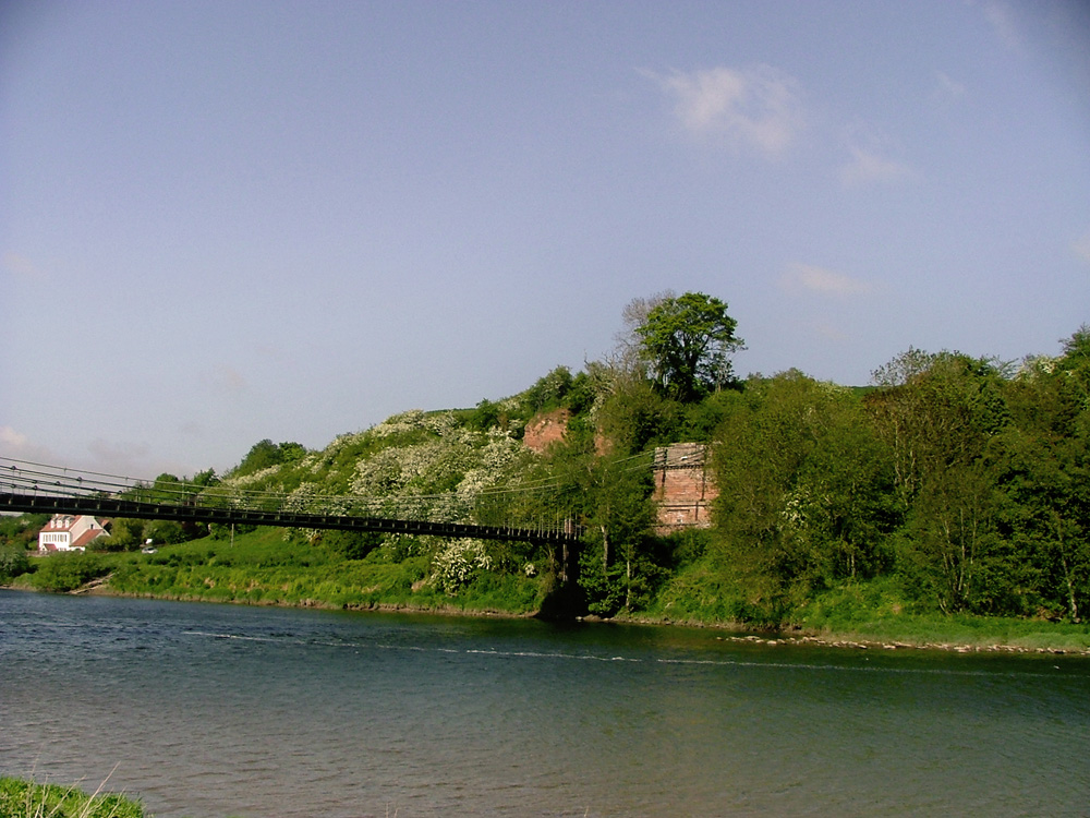 chain bridge in scotland