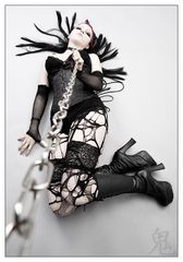 ... chained ...