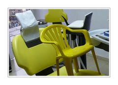 Chair baby in Dr. Dentist's chair