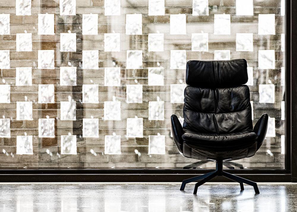 chair, shine and light