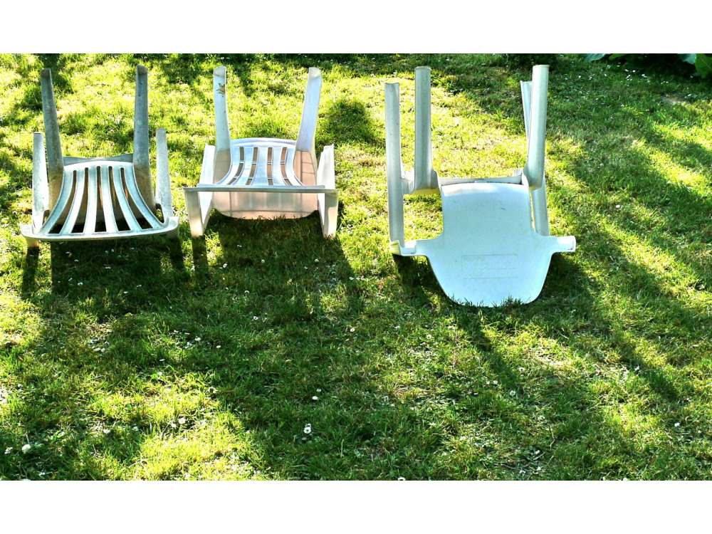 chairs facing east