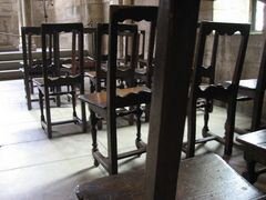chairs in the chapel