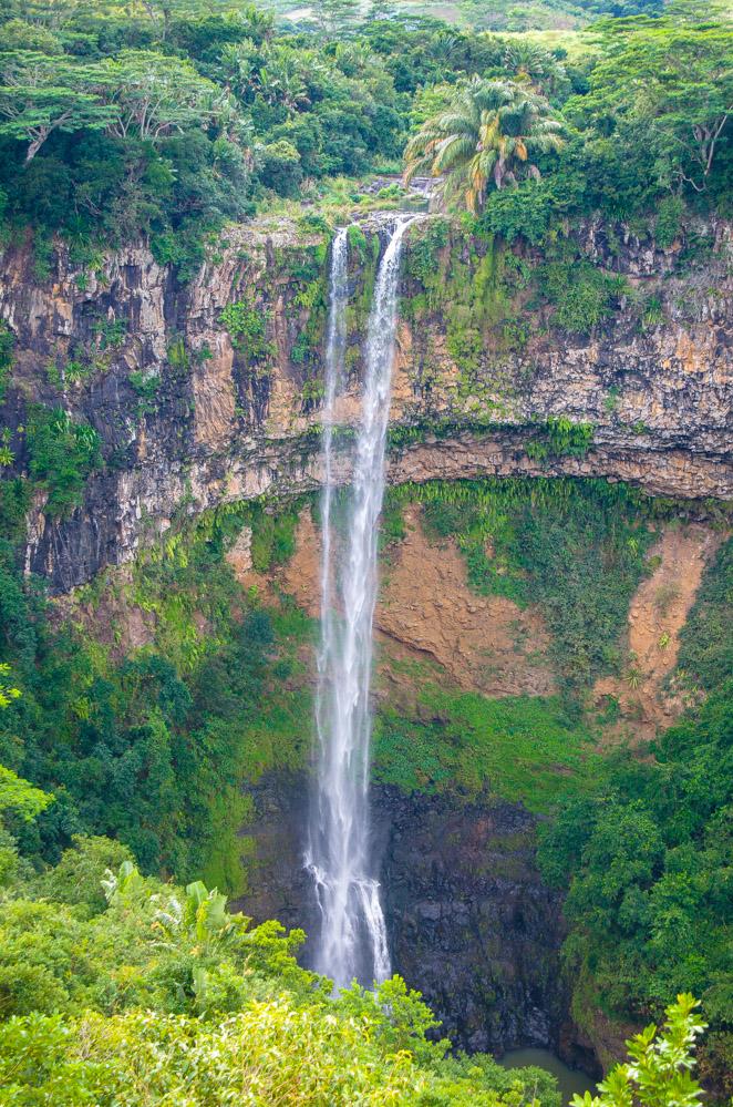 Chamarel Wasserfall im Gorges Nationalpark