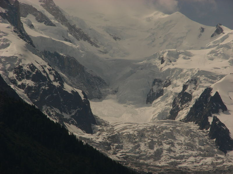 Chamonix - Mont Blanc glacier