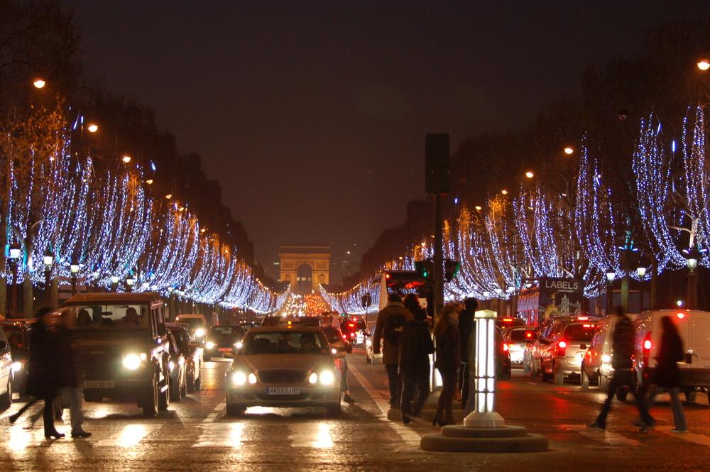 Champs-Elysees, Paris France