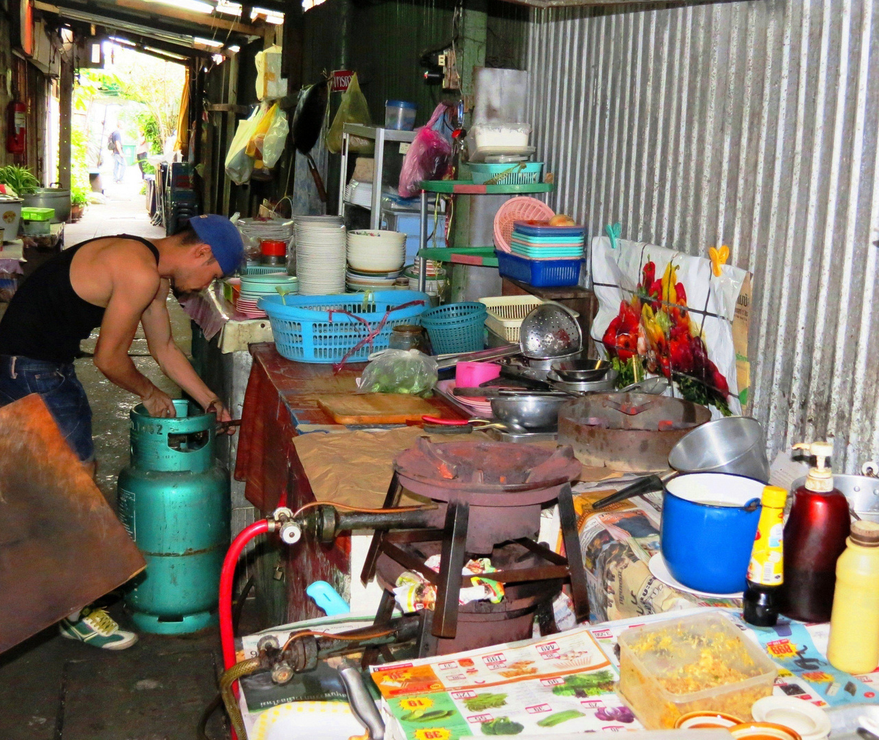 chaos k che foto bild asia thailand southeast asia bilder auf fotocommunity. Black Bedroom Furniture Sets. Home Design Ideas