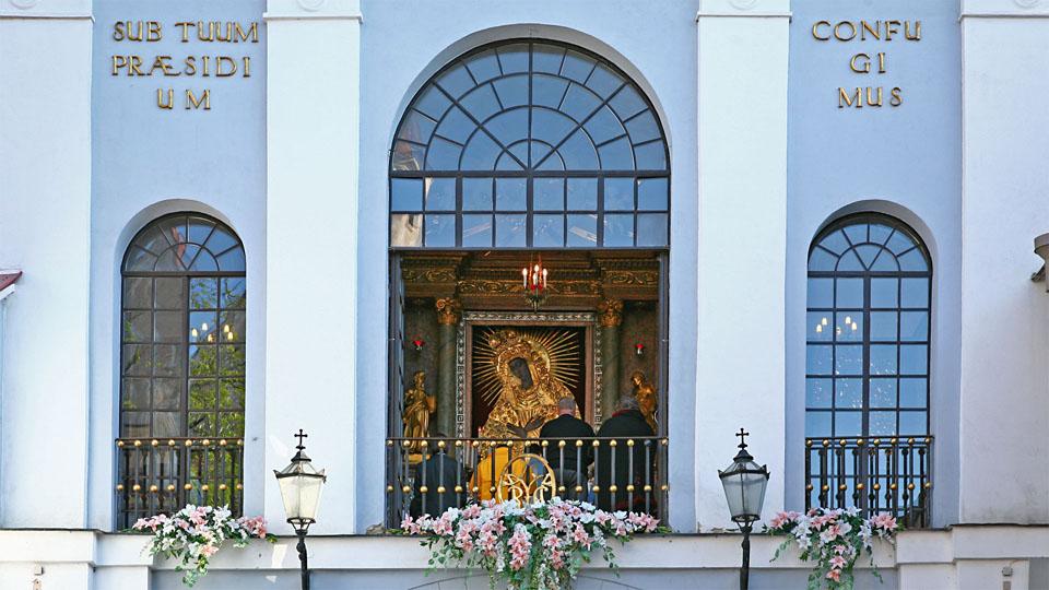 Chapel at Aušros vartai / Gate of Dawn, Vilnius / LT