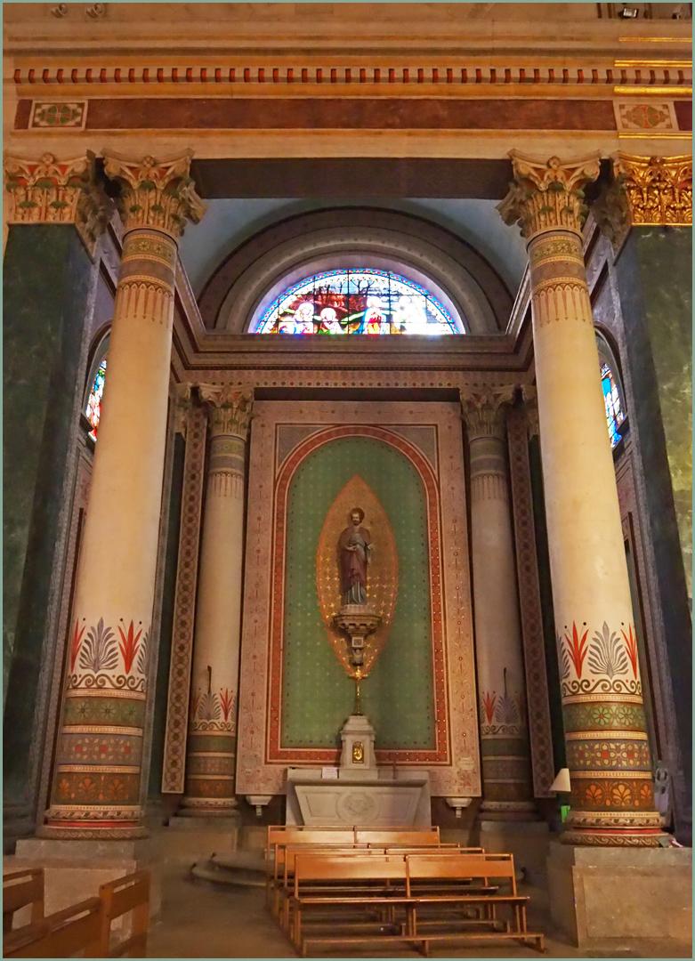 Chapelle latérale nord de l'Eglise Saint-Nicolas de Nérac