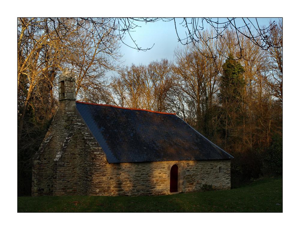 Chapelle  Saint Guénael, in der Nähe von Kerfany-les Pins