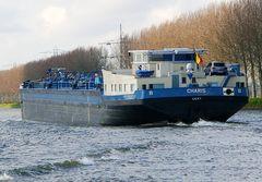 CHARIS auf dem Rhein unterwegs