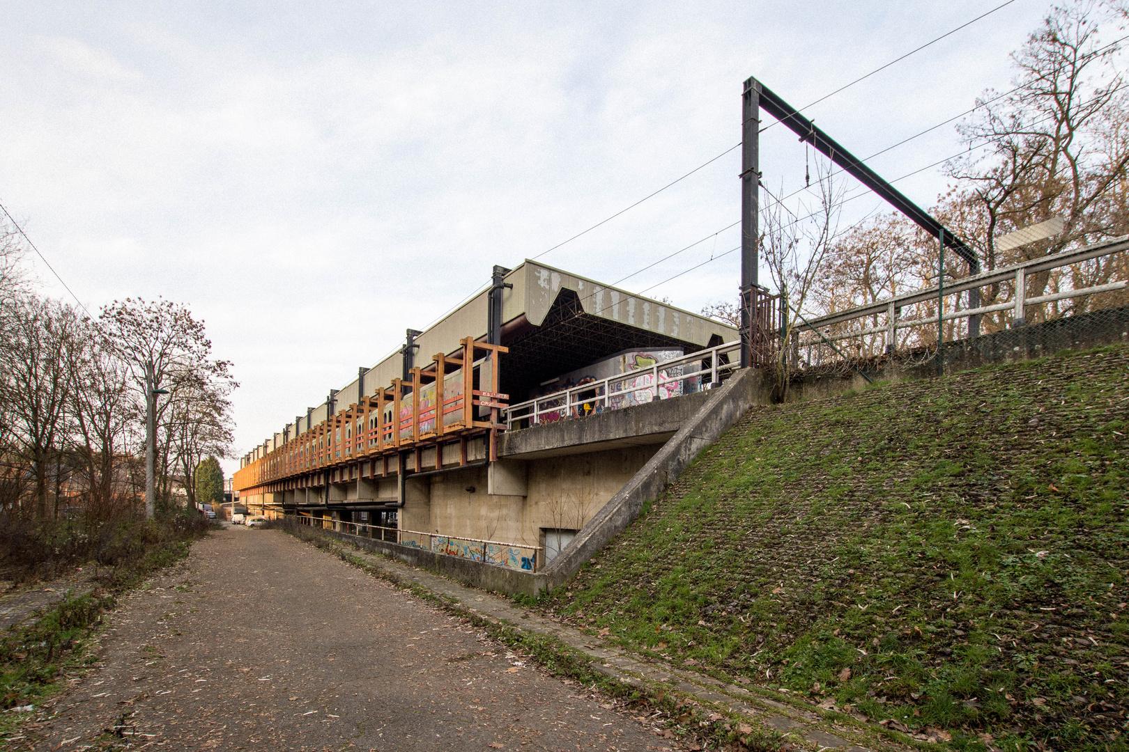 Charleroi - Le métro fantôme - Station Chet - 01