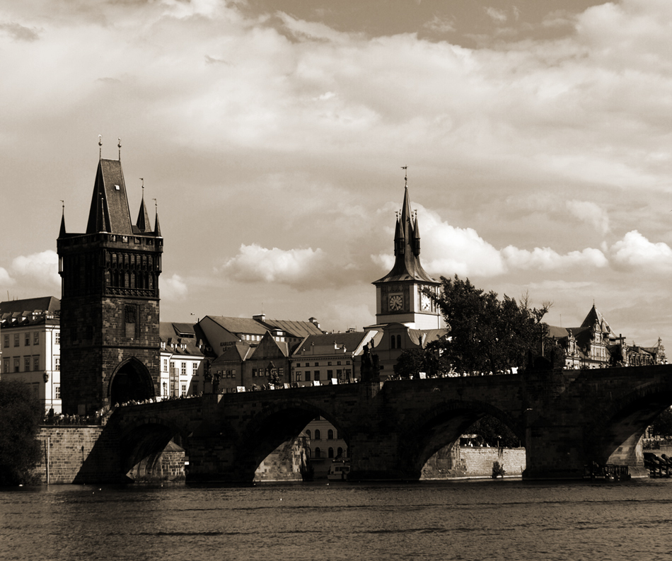 Charles Bridge From Different Angle