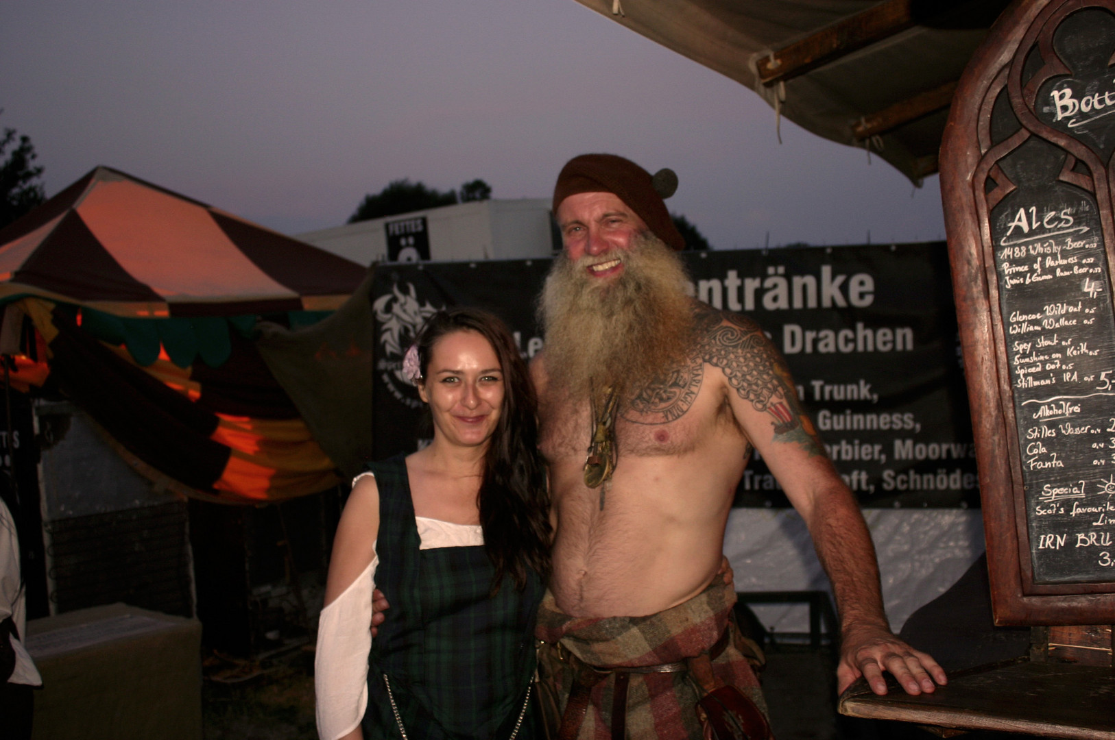 Charlie and Me - my first Highlander in Real