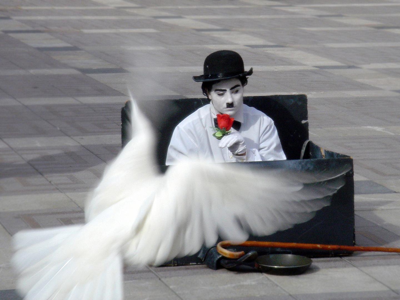 Charlie Chaplin Pantomime (Mallorca 2009)