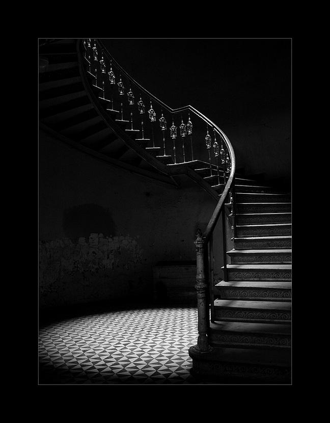 Charme Der Alten Treppe Foto Bild Architektur Treppen Und
