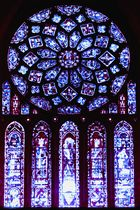 *CHARTRES CATHEDRAL - THE ROSE WINDOW*