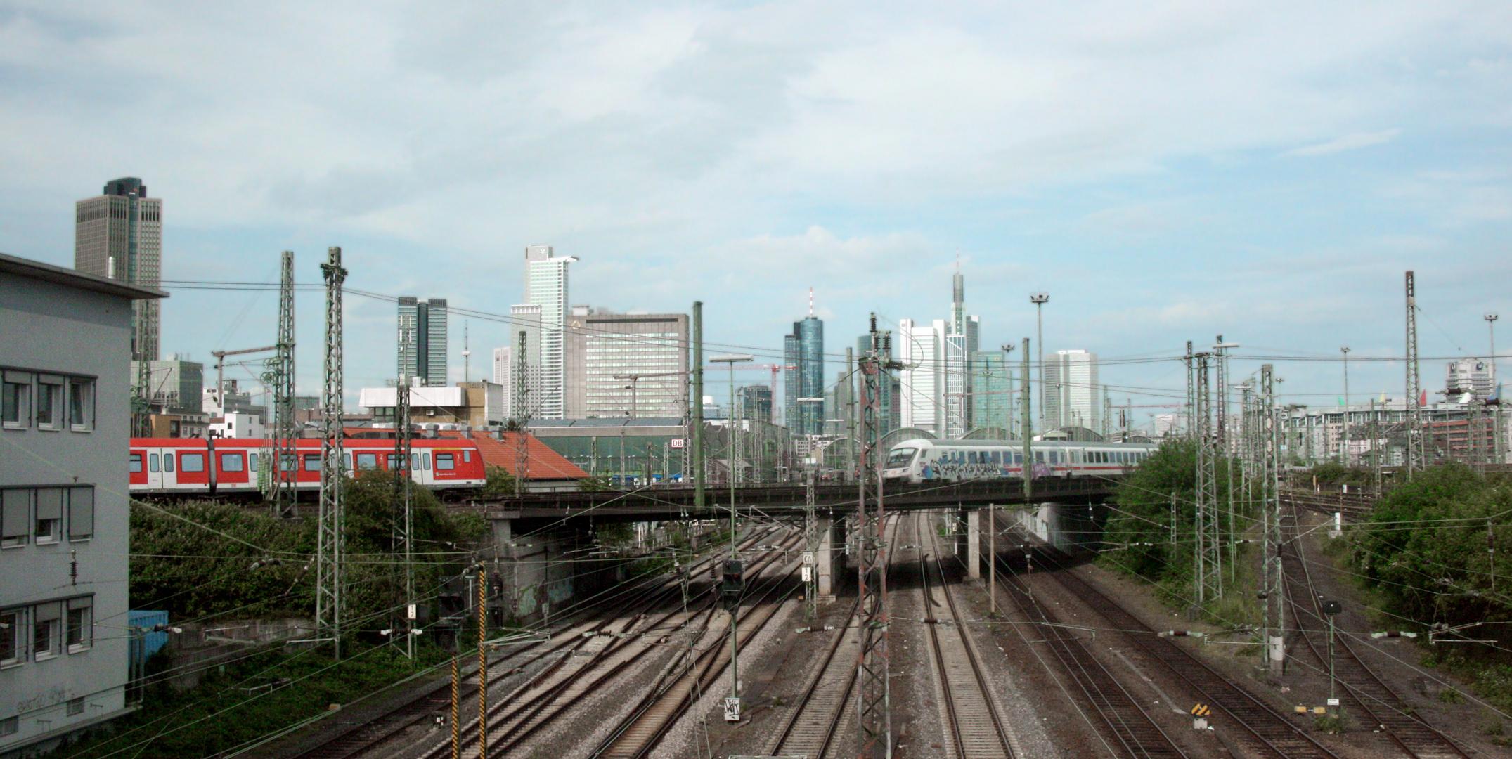 Chasing trains...