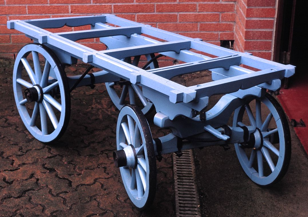 CHASSIS D'UNE ROULOTTE