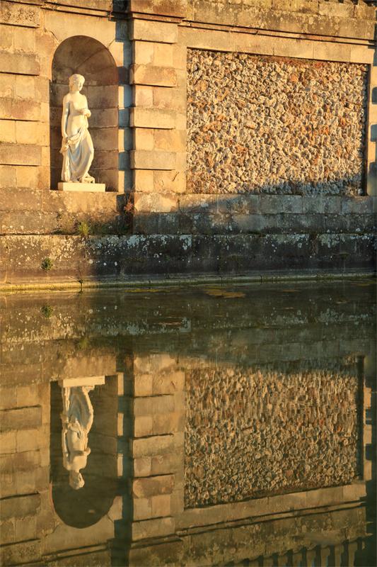 Chateau de Fontainebleau plan d'eau