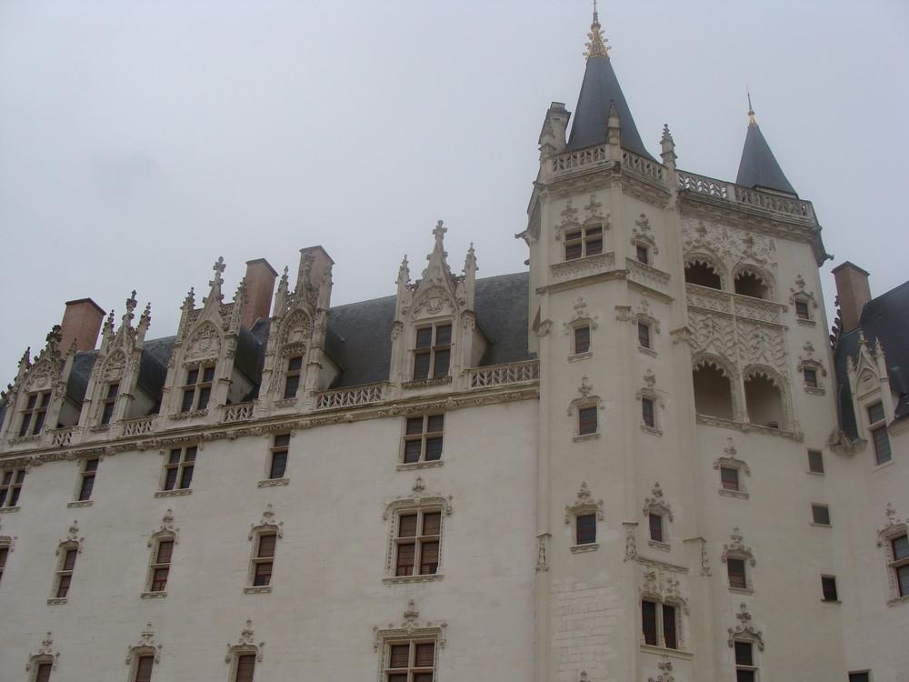 Chateau de Nantes cour intérieure