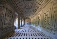 Chateau de Tanlay - La grande galerie